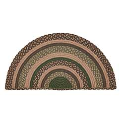 Barrington Braided Rug - Half Circle
