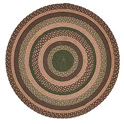 Barrington Braided Rug, Round (3 foot)