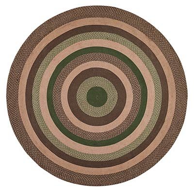 Barrington Braided Rug, Round (8 foot)