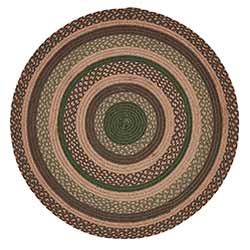 Barrington Round Braided Placemats (Set of 6)