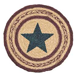 Potoma Jute Trivet with Star
