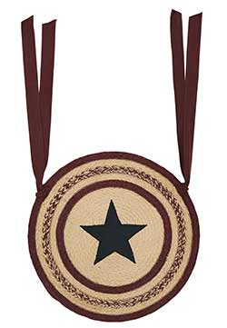 Potomac Braided Chair Pad with Star
