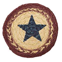 Potomac Braided Coaster with Star