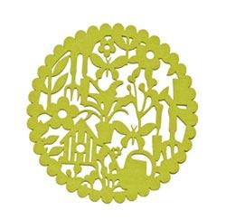 Garden Icon Round Trivet