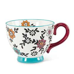 Chintz Floral Mugs (Set of 4)