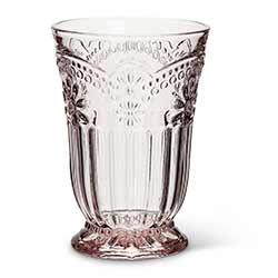 Pink Flower Highball Glasses (Set of 4)