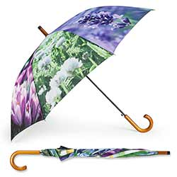 Floral Stick Umbrella