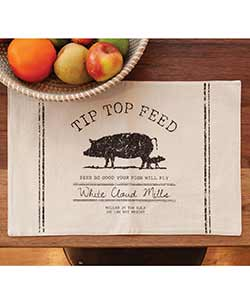 Tip Top Pig Placemat