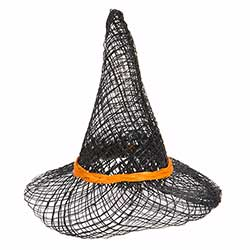 Sinamay Witch Hat, 3 inch