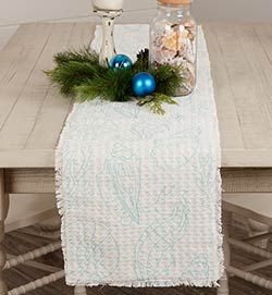 Arielle Beach 72 inch Table Runner