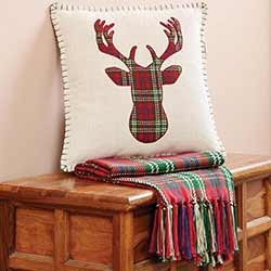 Connor Deer Decorative Pillow
