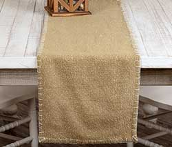 Nowell Natural 36 inch Table Runner