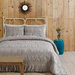 Natasha Chateau Grey Luxury King Quilt Set