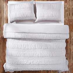 Natasha Silver Cloud Luxury King Quilt Set