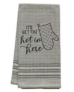 Getting Hot Dishtowel