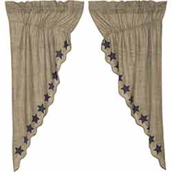 Vincent 63 inch Prairie Curtain