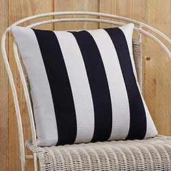 Eloise Striped Decorative Pillow (with Down Fill)