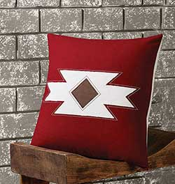 Navajo Native Decorative Pillow (with Down Fill)