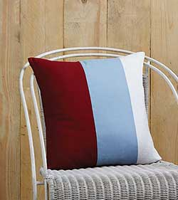 Freedom Banner Decorative Pillow