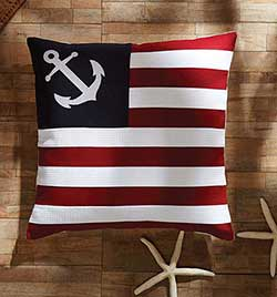 American Ahoy Decorative Pillow