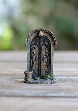 Fairy Garden Door with Bucket