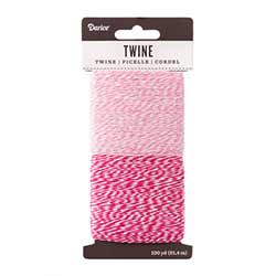 Baking Twine, 100 yards - Pinks