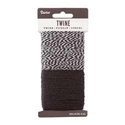Baking Twine, 100 yards - Black & White