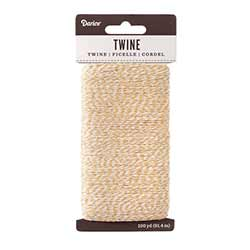 Baking Twine, 100 yards - Natural & White