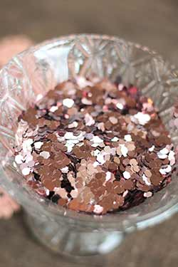 Super Chunky Glitter - Rose Gold (0.95 ounces)