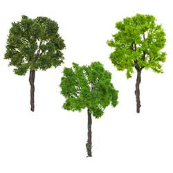 Mini Trees Foliage (Set of 3)