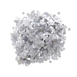 Chunky Glitter - Silver Matte (0.75 ounces)