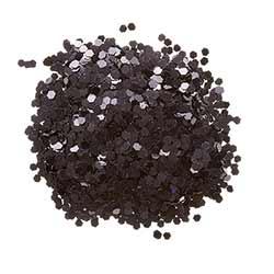 Chunky Glitter - Black (0.75 ounces)
