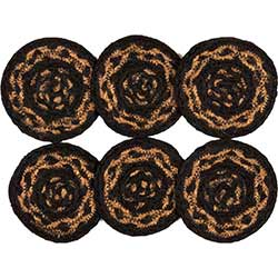 Farmhouse Jute Coasters (Set of 6)