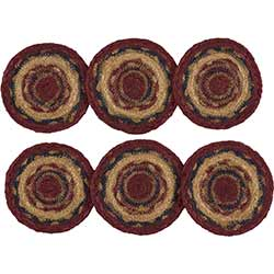 Providence Braided Coasters (Set of 6)