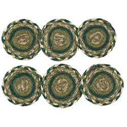 Sherwood Braided Coasters (Set of 6)