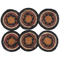 Stratton Braided Coasters (Set of 6)
