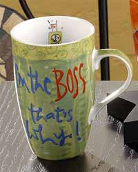 Just a Job Mug - I&#039;m the Boss