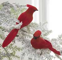 Cardinal Clip-on Ornament