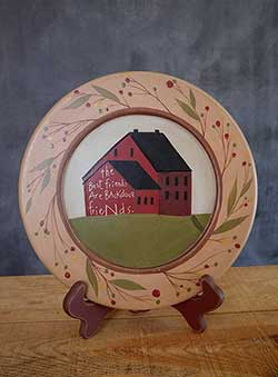 Backdoor Friends Primitive Plate & Primitive Plates \u0026 Decor - The Weed Patch