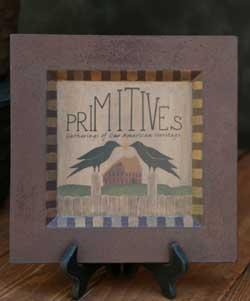 Primitive Heritage Plate
