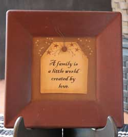 A Family Tag Plate