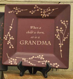Grandmother Plate