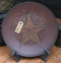 Dream Plate with Star