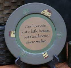 Little House Plate