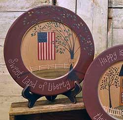 Sweet Land of Liberty Plate