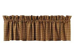 Cambridge Mustard Plaid Valance
