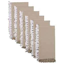 Harmony Taupe Napkins (Set of 6)