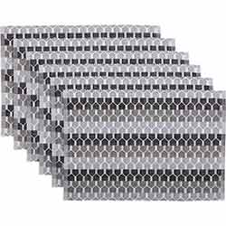 Blaire Ribbed Placemats (Set of 6)