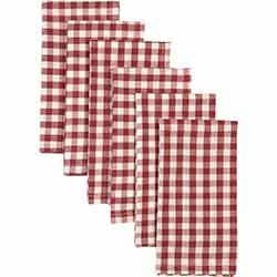 Katie Red Napkins (Set of 6)