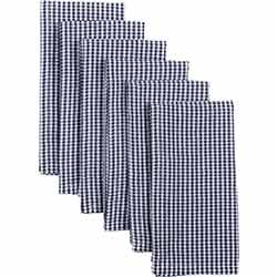 Keeley Navy Napkins (Set of 6)